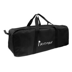 Magideal 130l Big Capacity Outdoor Travel Duffle Bag Black Oxford Rucksack 90*37*37cm - Intl By Magideal.