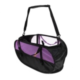 Best Offer Magideal Folding Rock Climbing Rope Cord Bag Storage Bucket With Carry Straps Purple Intl