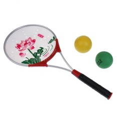Price Comparison For Magideal Kongfu Martial Art Tai Chi Excercise Fitness Soft Power Ball Racket Sets Lotus Intl