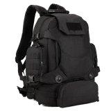 Magideal Military 3 Way Molle Rucksack Backpack Hiking Trekking Camping Bag 40L Black Intl Lowest Price