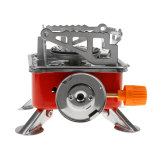 Magideal Outdoor Portable Square Shaped Gas Butane Burner Camping Hiking Picnic Stove Intl Coupon