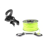 Buy Magideal Scuba Diving Double Hose Holder With Clip 31M Line Scuba Spool Finger Reel Intl Online China