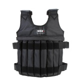 Discount Max Loading 20Kg Adjustable Weighted Vest Weight Jacket Exercise Boxing Training Waistcoat Invisible Weightloading Sand Clothing Empty Intl Hong Kong Sar China
