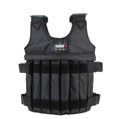 Max Loading 20kg Adjustable Weighted Vest Weight Jacket Exercise Boxing Training Waistcoat Invisible Weightloading Sand Clothing (empty) - Intl By Tomtop.