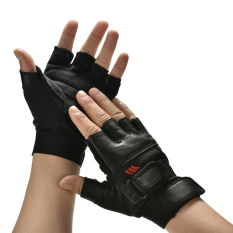 Men Weight Lifting Gym Exercise Training Sport Fitness Sports Car Leather Gloves By Aokago.