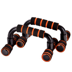 Men Women Indoor Outdoor 2 Pcs Detachable H Shape Push Up Pushup Bars Stands Handles Training Tool Orange By Stoneky.