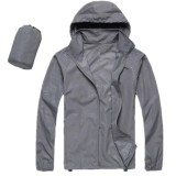 Buy Men Women Quick Dry Hiking Jacket Waterproof Upf30 Sun Uv Protection Coat Outdoor Sport Skin Camping Clothing Color Light Gray Size L Intl Cheap On China