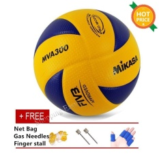 Compare Prices For Mikasa Mva 300 Volleyball Soft Pu Volley Ball Mva300 Intl