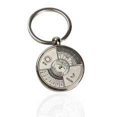 Mini Perpetual Calendar Keychain Ring By Sportschannel.