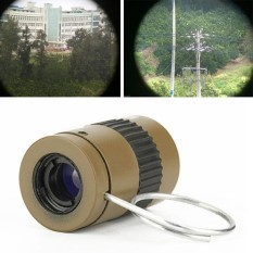 Mini Telescope Monocular 2.5x17.5mm Thumb Outdoor Camping Hiking Tools Device - Intl By Got It.