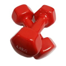 How To Get Mini Vinyl Dumbbells 4Kg Red Sold In Pair