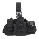 Best Price Molle Quick Detach Drop Leg Holster With Molle Pouch Black Intl