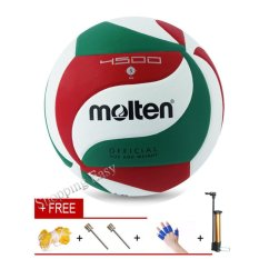 Molten Soft Touch Volleyball Vsm4500 Size5 Match Quality Volley Ball - Intl By Shopping Easy.