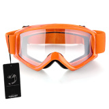 Sales Price Motorcycle Motocross Atv Helmet Eye Protection Glasses Goggles Orange Intl