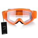 Price Comparisons For Motorcycle Motocross Atv Helmet Eye Protection Glasses Goggles Orange Intl