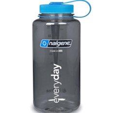 The Cheapest Nalgene Wide Mouth Water Bottle 32Oz Grey W Blue Cap Online