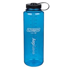 Best Rated Nalgene Wide Mouth Water Bottle 48Oz Blue With Black Cap