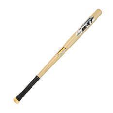 Natural Locust Wood Car Mounted Defensive Baseball Bat Polishing Increase Solid Wood Baseball Bat By Taobao Collection.