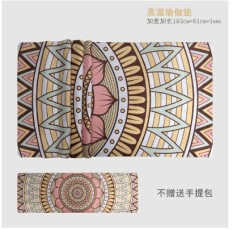 Cheapest Natural Rubber Thin Foldable Travel Thin Blanket Yoga Mat