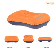 Top Rated Naturehike Inflatable Pillow Travel Air Pillow Neck Camping Sleeping Gear Fast Portable Green Blue Orange Tpu Intl