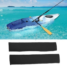 Neoprene Soft Antiskid Protective Paddle Grips For Efficient Paddling (black) - Intl By Highfly.