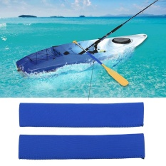 Neoprene Soft Antiskid Protective Paddle Grips For Efficient Paddling (blue) - Intl By Highfly.
