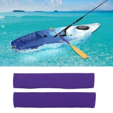 Neoprene Soft Antiskid Protective Paddle Grips For Efficient Paddling (purple) - Intl By Highfly.