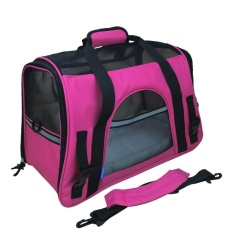 New Convenient Pet Carrier Soft Sided Cat Dog Bag Travel Approved Handbag Intl Lowest Price