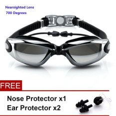 Buy New Fashion 700 Degrees Nearsighted Adults Unisex Waterproof Anti Fog Tinted Uv Protection Soft Silicone Swimming Goggles For Man And Woman With Low Vision Sg 004 Intl Oem Cheap