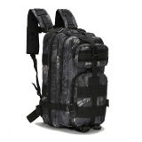 Purchase New Men Women Outdoor Military Army Tactical Backpack Molle Camping Hiking Trekking Camouflage Bag Light Black