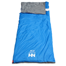 Retail Price New Outdoor Envelope Sleeping Bag Camping Travel Hiking Multifuntion Ultralight Sky Blue Export