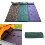New Self Inflating Camping Mattress Inflatable Sleeping Pad Camping Air Mattress With Pillow Portable Folding Beach Mat Intl On Line