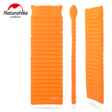 Nh Innovative Soft Sleeping Pad Fast Filling Air Bag Super Light Inflatable Portable Mattress Rescue Life Cusion 186 60 8 5Cm 550G Orange Best Buy