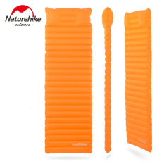 Recent Nh Innovative Soft Sleeping Pad Fast Filling Air Bag Super Light Inflatable Portable Mattress Rescue Life Cusion 186 60 8 5Cm 550G Orange
