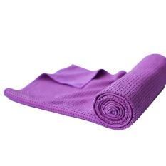 Niceeshop Non Slip Yoga Mat Towel With Silicone Beads Ultra Absorbent Microfiber Extra Firm Grip For Hot Yoga Pilates Workout Exercise Blue Intl Price