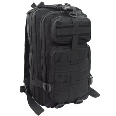 Niceeshop Outdoor Camping Hiking 25l 3p Tactical Backpack (black) By Nicee Shop
