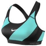Discount Nike Pro Classic Padded Diagonal Sports Bra Nike Singapore
