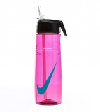 Discount Nike T1 Flow Swoosh 24 Oz Water Bottle Pink Singapore