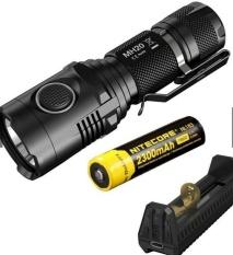 Sale Nitecore Mh20 Flashlight Ipx8 Waterproof Cree Xm L2 U2Led 1000Lumen 12500Cd 220M Intl Nitecore Branded