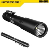 Compare Prices For Nitecore Mt06Md Nichia 219B 180Lm Led Pocket Medical Penlight Flashlight Black Intl