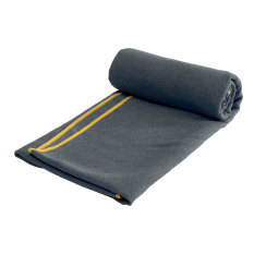 Buy Non Slip Microfiber Travel Exercise Fitness Yoga Pilates Mat Cover Towel Blanket Dark Gray New