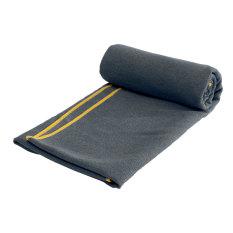 Non Slip Microfiber Travel Exercise Fitness Yoga Pilates Mat Cover Towel Blanket Dark Gray New Price Comparison