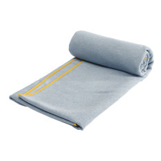 Review Non Slip Microfiber Travel Exercise Fitness Yoga Pilates Mat Cover Towel Blanket Light Gray Singapore