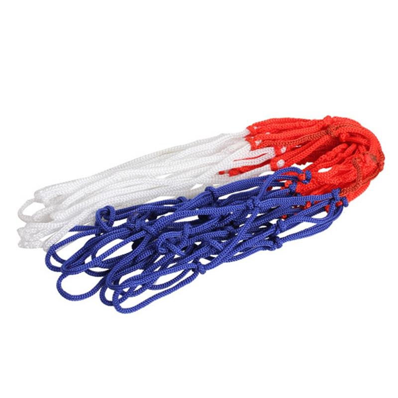 Nylon Thread Sports Basketball Hoop Mesh Net Backboard Rim Ball Pum 12 Loops - intl