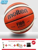 Sale Official Molten Basketball Balls Gg7X Size 7 Pu Material Basketball Ball Outdoor Indoor Training Ballon Free With Net Bag Pin And Inflator Intl Online China