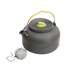 Cheapest Oh 1 4L Outdoor Kettle Picnic Camping Cookware Teapot Water Pot Aluminum New Online