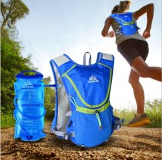 Who Sells The Cheapest Outdoor Professional Outdoors Marathoner Running Race Hydration Vest Hydration Pack Backpack 2L Water Bag Blue Creative Intl Online