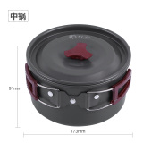 Buy Red Portable Picnic Non Stick Pot Outdoor Camping Pot Set On China