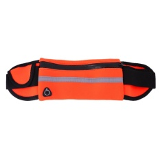 Outdoor Running Sports Waist Bag Waterproof 5.5inch Phone Bag(orange) - Intl By Sportschannel.