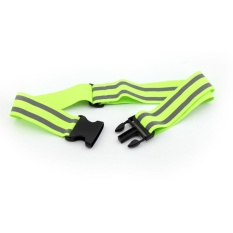 Outdoor Safety High Visibility Reflection Belt(green) - Intl By Sportschannel.